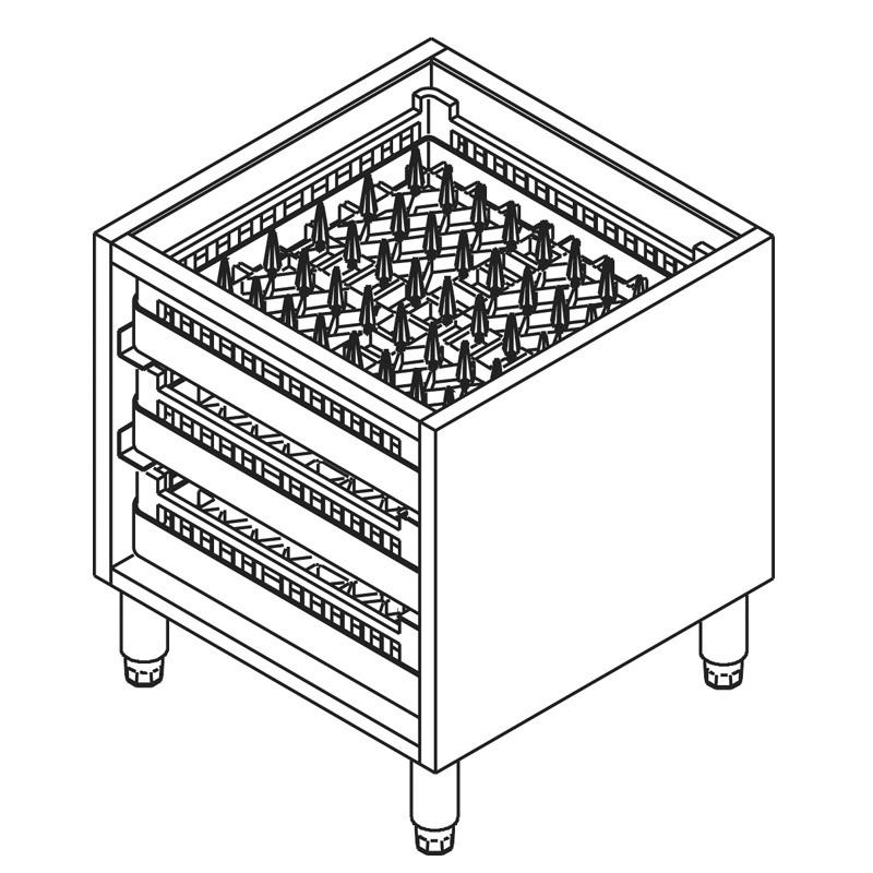 sp lmaschinen unterschrank spi40 alles f r die gastronomie. Black Bedroom Furniture Sets. Home Design Ideas